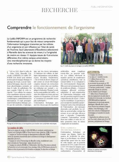 Article paru dans le Nouvel Observateur p1/2